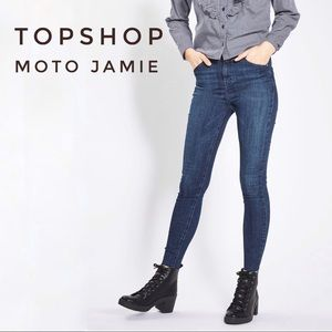 TOPSHOP Moto Jamie High rise Jeans W28xL30 Skinny